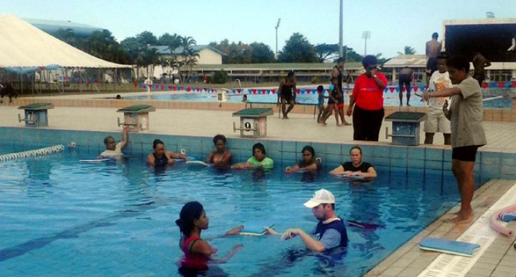 Teaching The Disabled How To Swim
