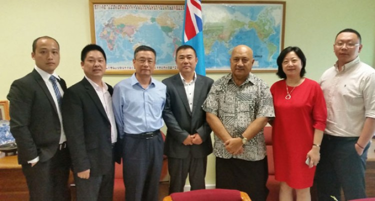 Potential Investors From China Meet With Ratu Inoke