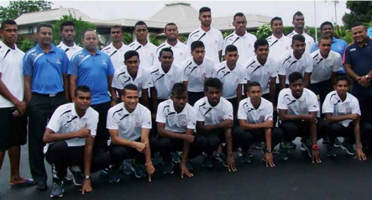 U20 Football Team Challenged
