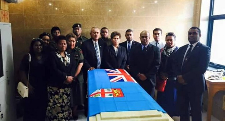 Full Military Funeral For Senior Officer