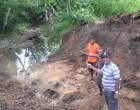 Village Youths Repair Drainage