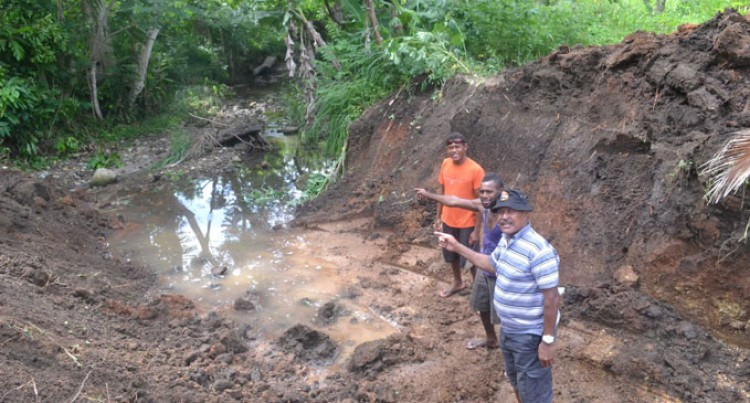 Village Youths Repair Drainage