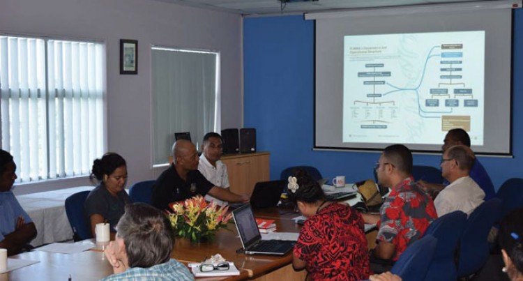 Sharing Knowledge Between Fiji, Tuvalu