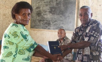 Free Bibles For Ovalau Villagers
