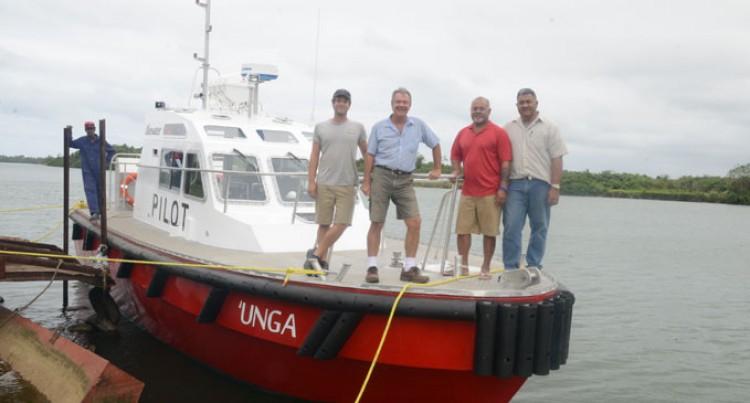 Tonga's First Pilot Boat Built In Navua