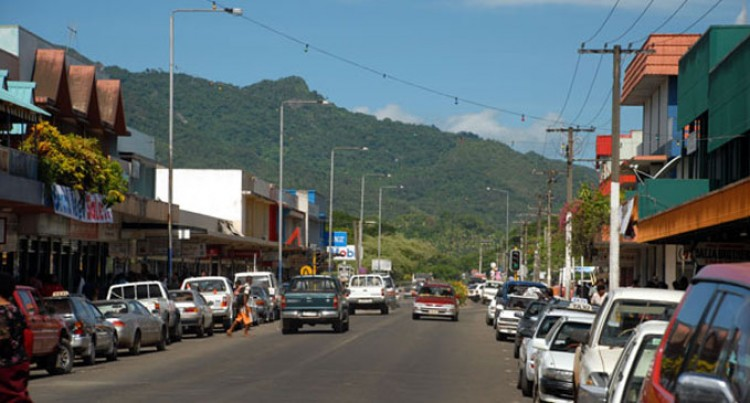 Labasa Town Works  On Beautification