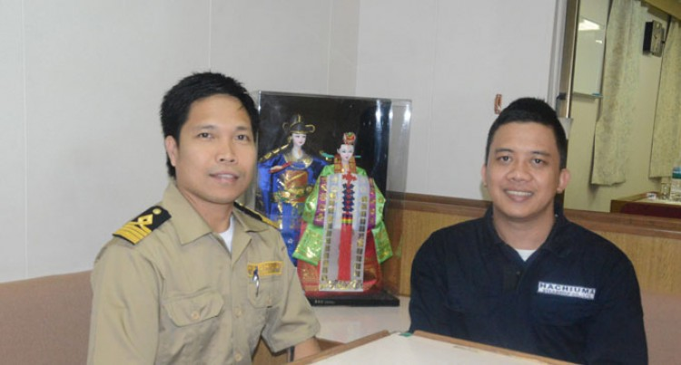 Life At Sea With Filipino Cadet