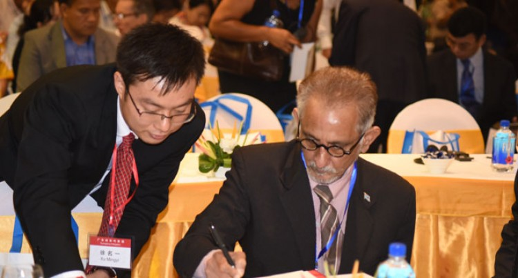 Koya: Fiji,China Trade Flows Flourishing