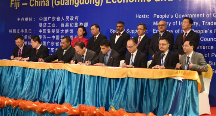 $690million Chinese Projects Deals Signed
