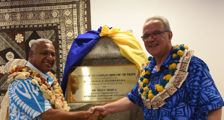 EU Presence Reinforces Suva As  Regional Hub, Says Bainimarama
