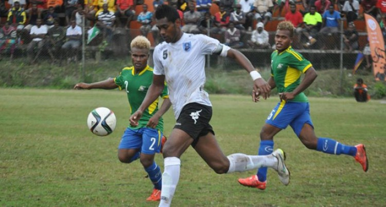 Fijians Battle To A Draw