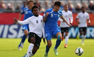 Uzbekistan Qualify, End Fiji's Dreams.