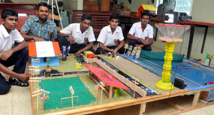 Nadi Students Create Hybrid Energy Model