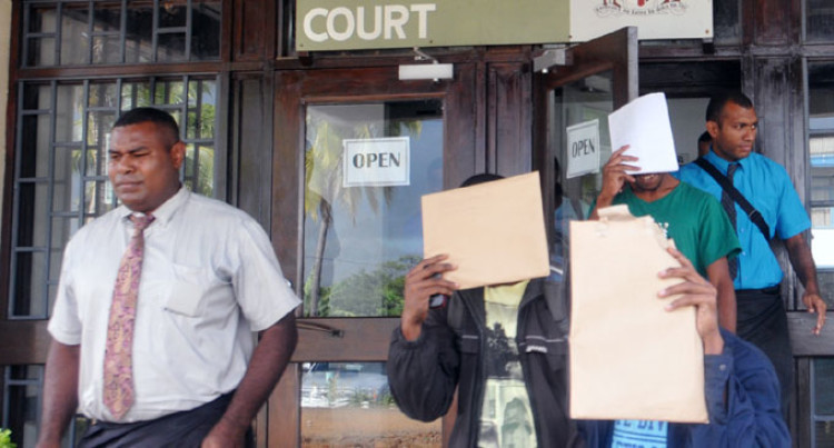 Suspects Front Nadi Court
