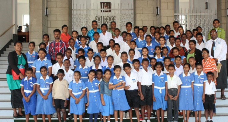 First Parliament Visit For Raviravi Sangam Students