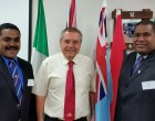 Fijian Three Study Israeli Security