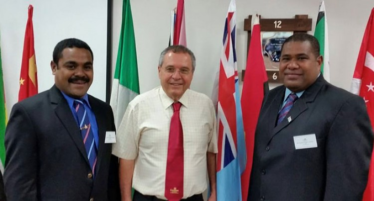 Fijian Three Study Israeli Security