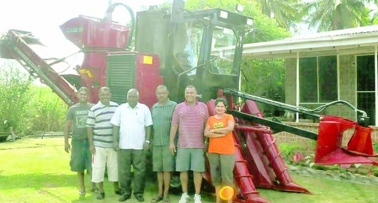Cane Harvest Machine Now In Ba