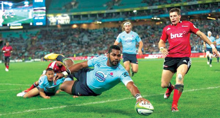 Naiyaravoro Says He Will Play For Fiji