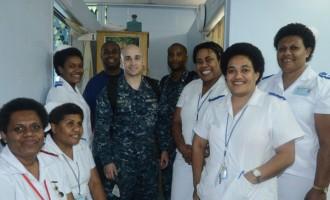 Free Checks On Board Hospital Ship
