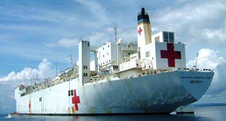USNS Mercy Ship Arrives On Friday
