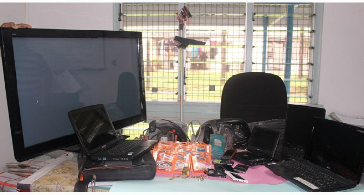Stolen Items Recovered From Raids