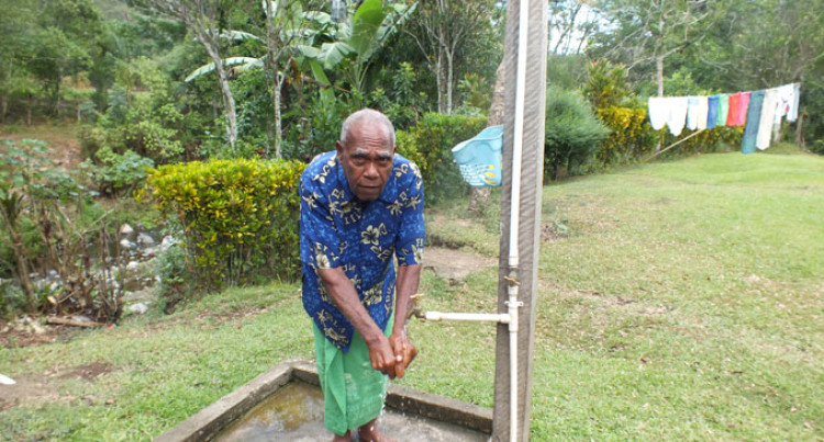 Village Finally Gets Running Water