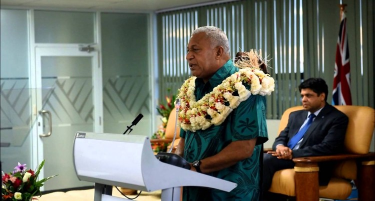 PM Voreqe Bainimarama Launches Green Growth Framework