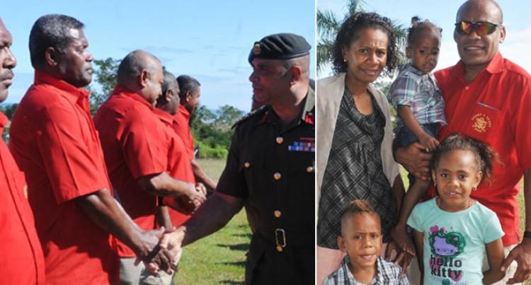 Teresia Happy On Husband's Return
