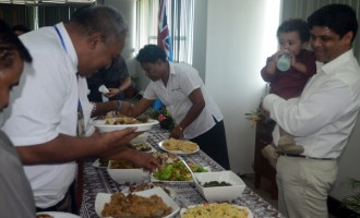 A-G Hosts Eid Lunch For Staff