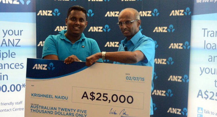 ANZ Rewards Krishneel Naidu AU$25, 000