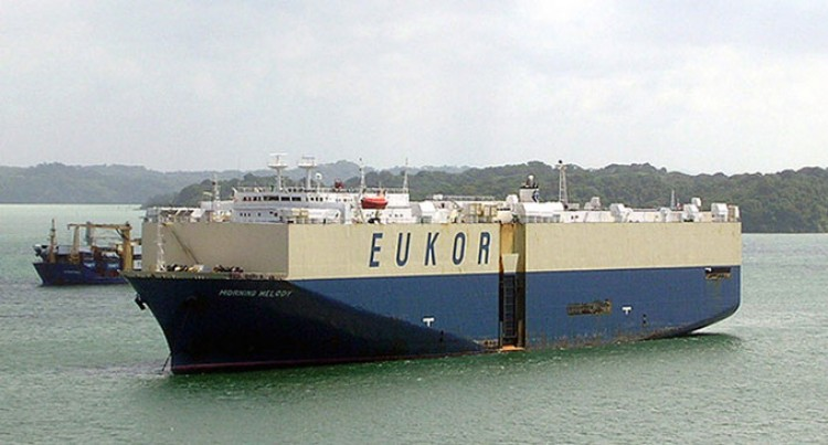 Car Carrier Brings In Over 200 Cars