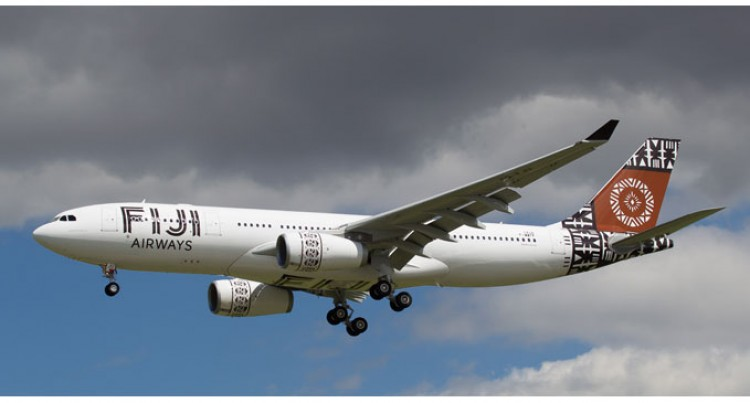 Fiji Airways Airbus Struck By lightning In Sydney