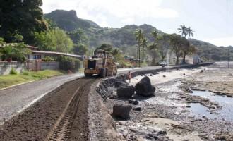 Ovalau Roads Receiving   Extensive  Upgrade