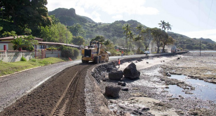 Ovalau Roads Receiving   Extensive  Upgrade