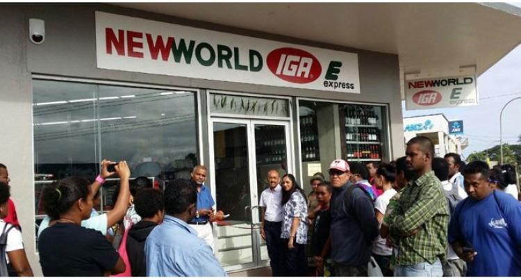 NewWorld IGA Express Opens In Savusavu