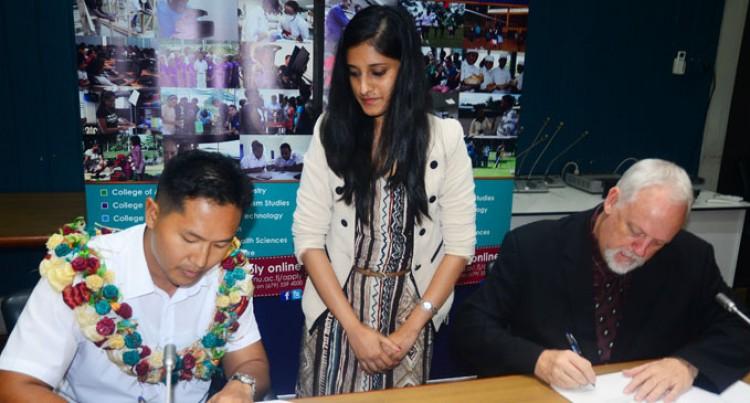 Fiji National University Explores Agri-business