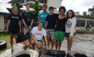 Students Build Playground For Nasinu Children