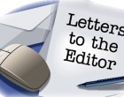 Letters To The Editor, 3rd December, 2015