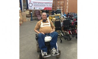 People's Love, Generosity Keep Wheelchair-Bound Man Going