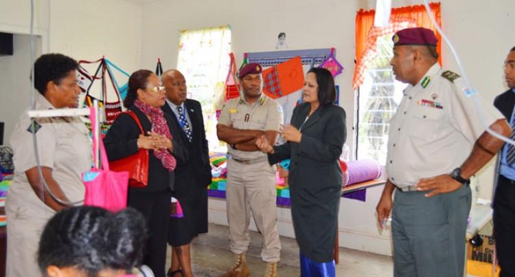 Minister Akbar Visits Women's Centre In Suva