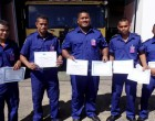 Nauru Fire Fighters Graduate After Completing AFL Course