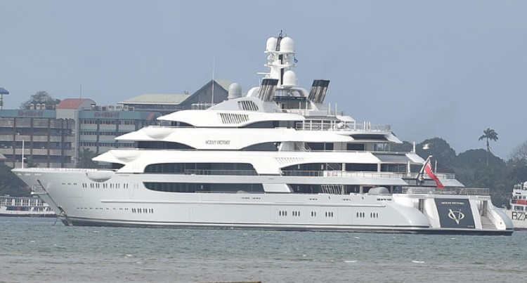Super Yacht Spotted