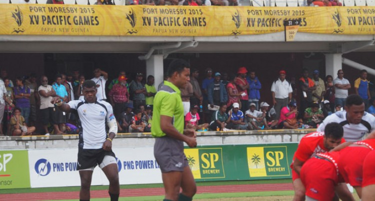 Kaveni Keen To Pass Refereeing Test