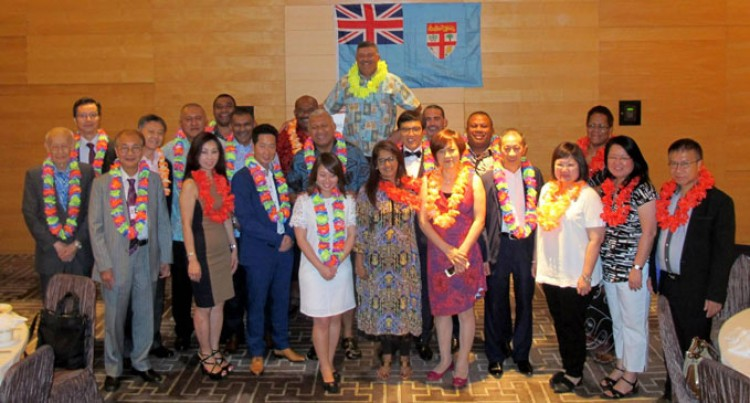 PM Hosted To Reception By Hong Kong-Fiji Chamber Of Commerce