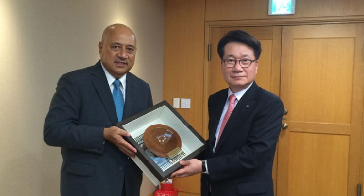 Fiji Assures Korean Air Support