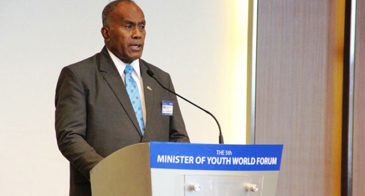 Tuitubou Addresses 5th Minister Of Youth World Forum