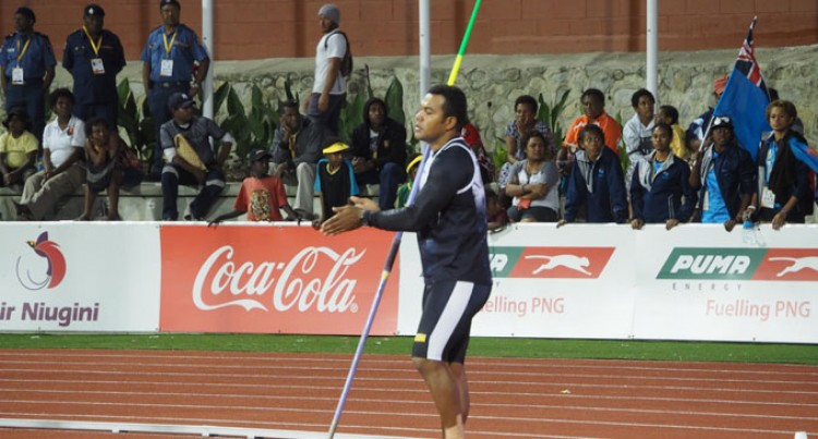 Copeland Battles Odds To Win Gold At Port Moresby
