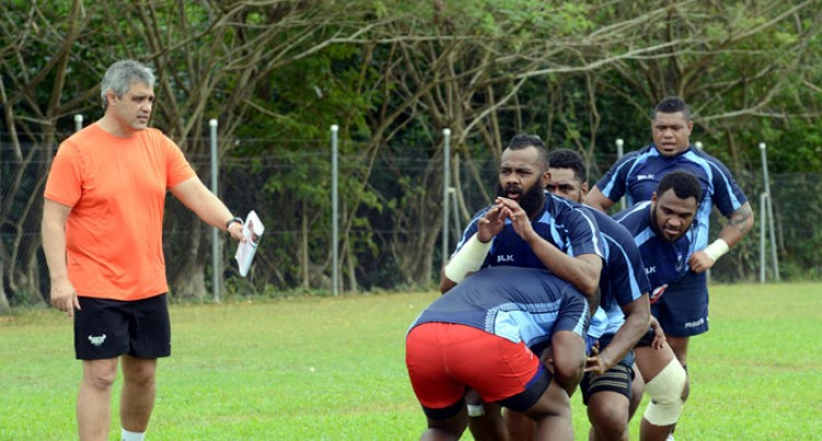 Nakarawa Ready For Big Test