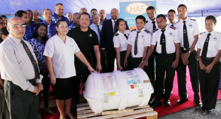 LAWHILL Donates Life Raft To Academy
